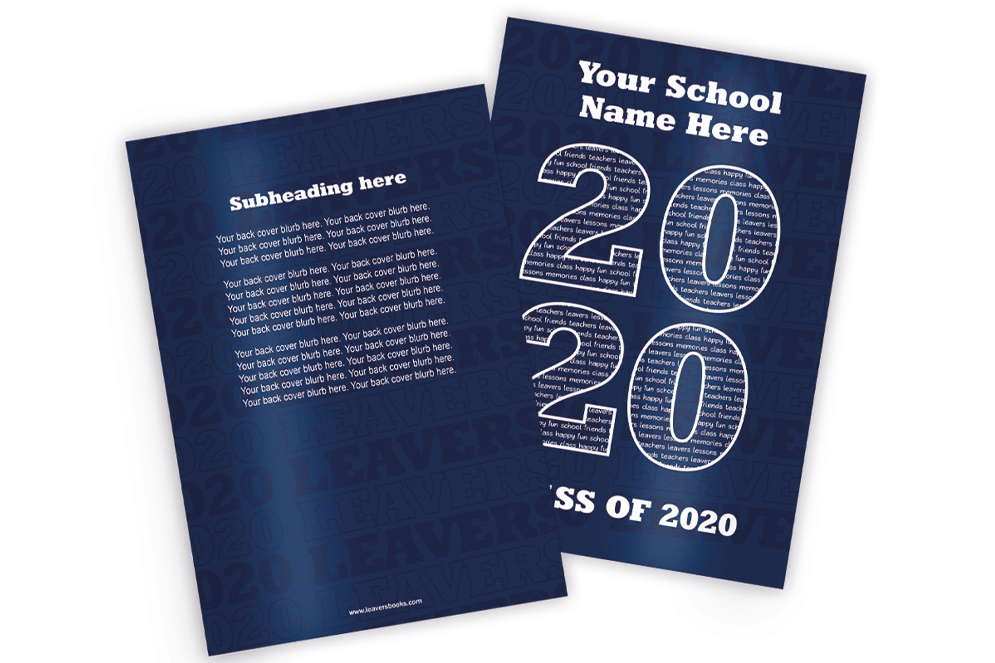 Varsity Blue Yearbook Covers