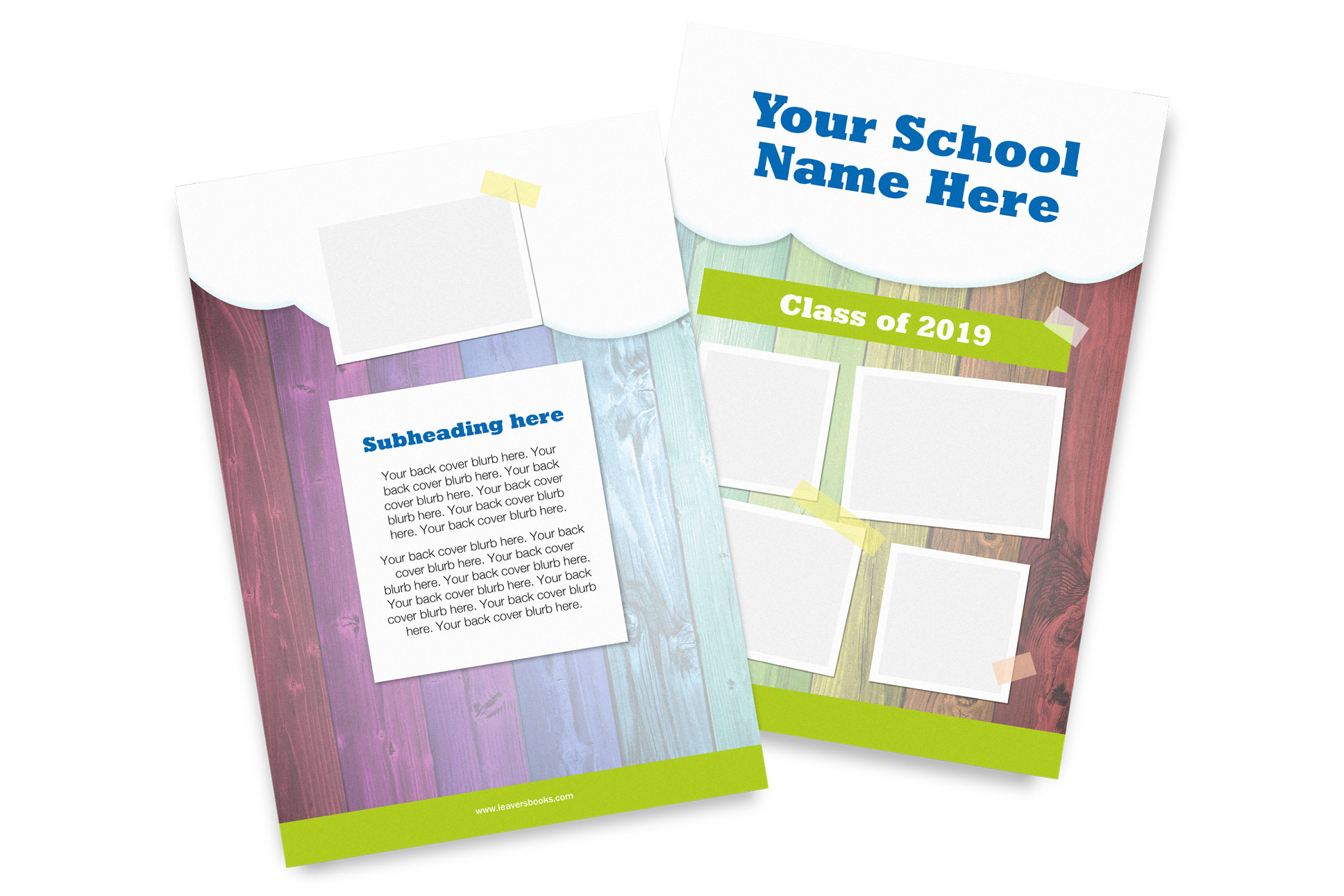 Clouds Yearbook Covers