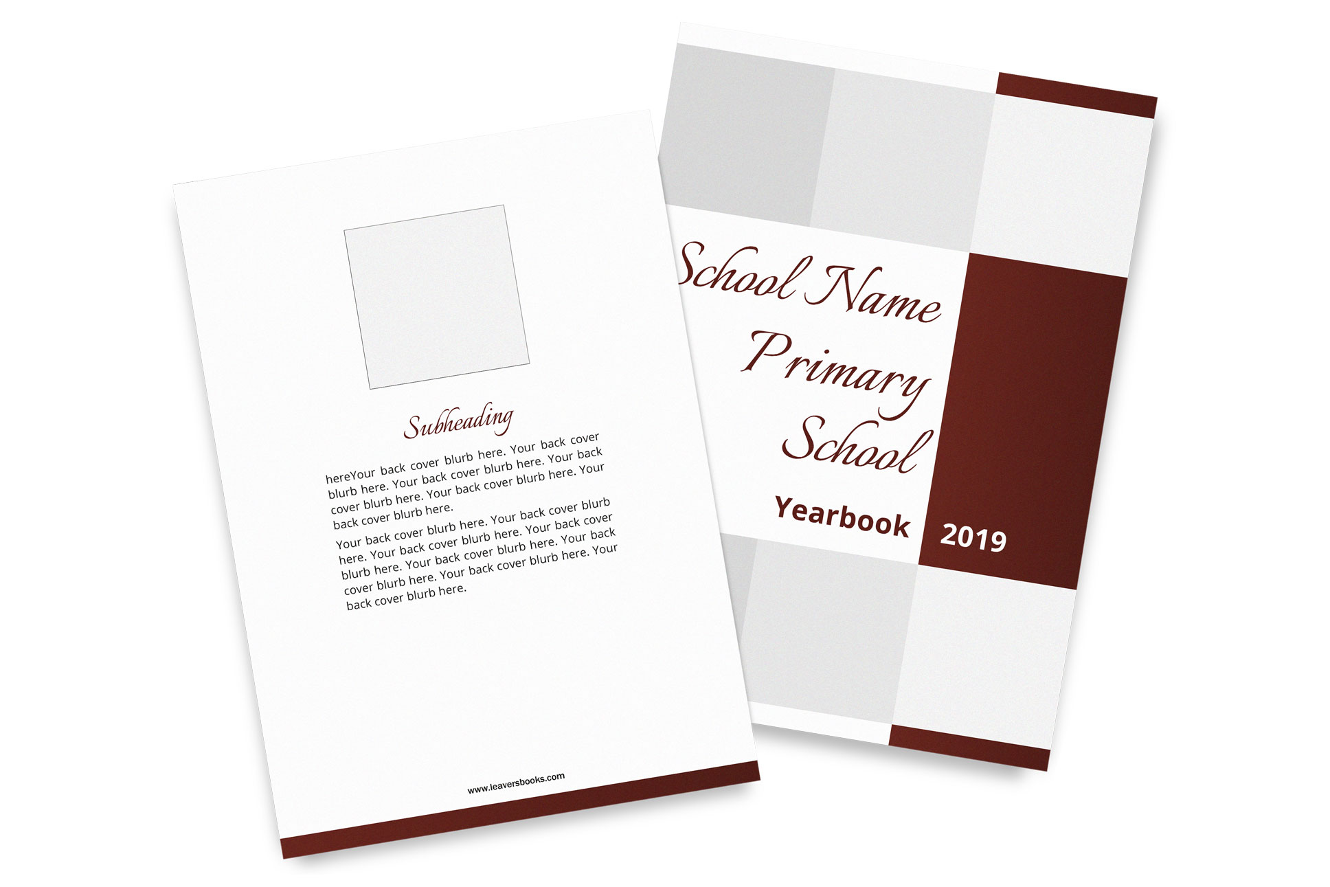 Formal Yearbook Covers