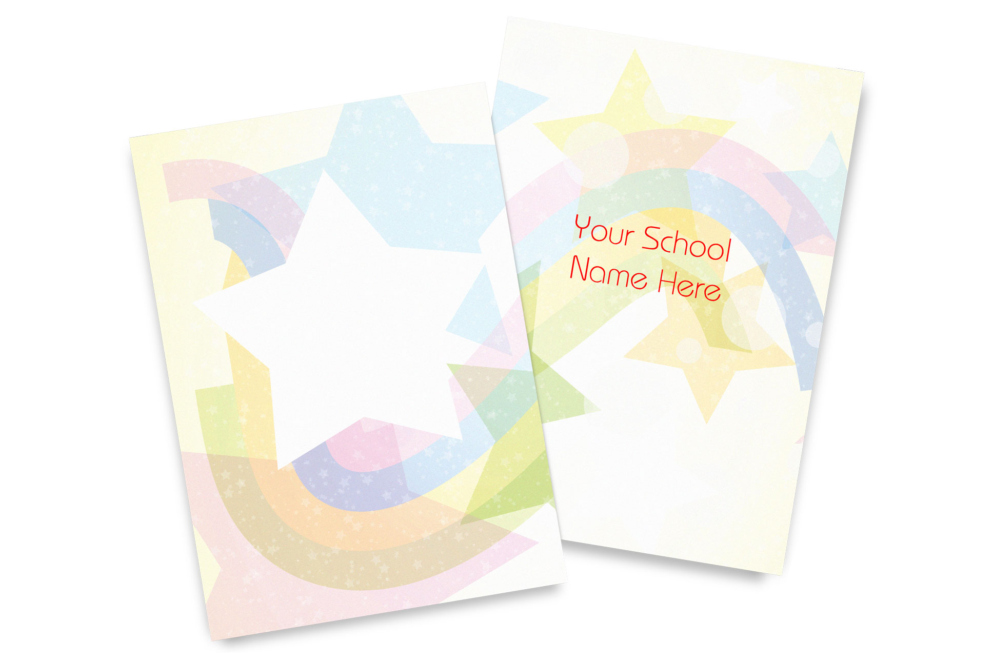 Starburst Yearbook Covers