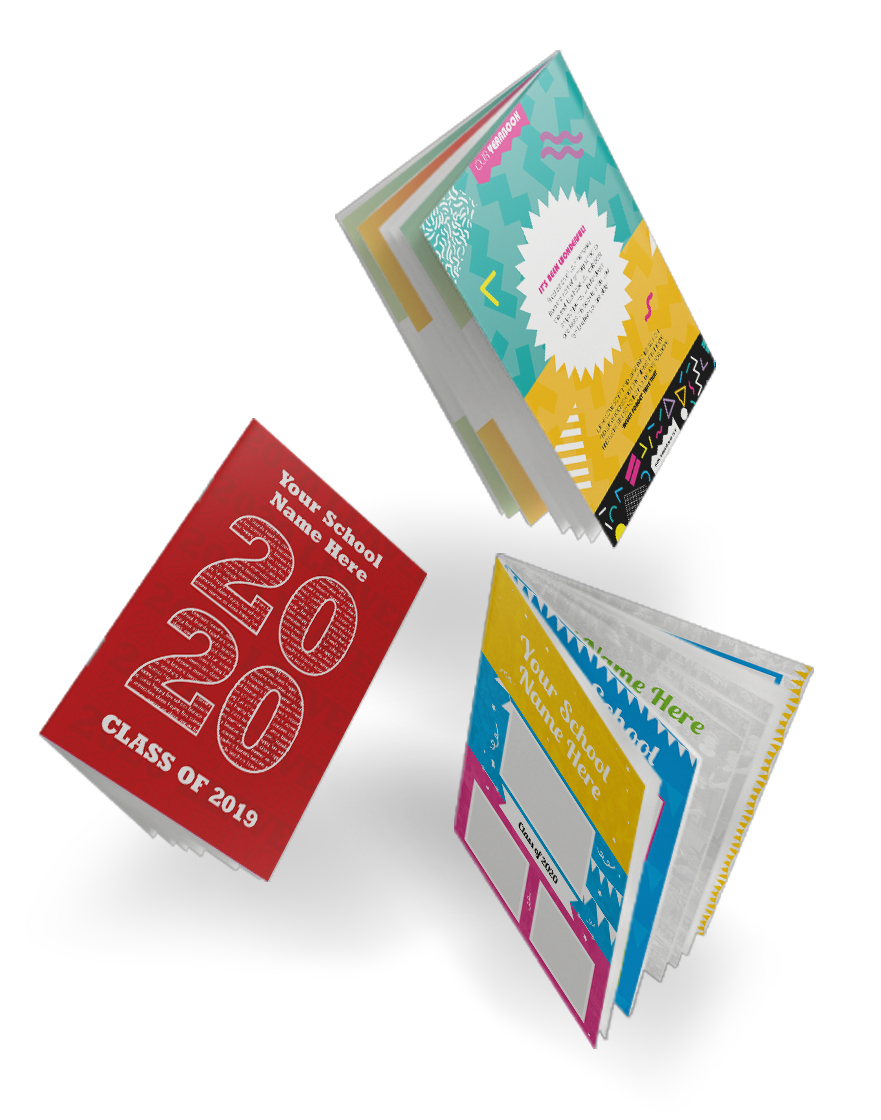 yearbooks Leavers' Books